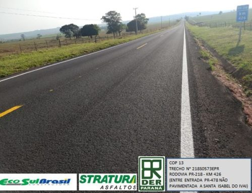 Stratura Asfaltos, DER Paraná and Eco Sul Brasil Construction: Successful Partnership!