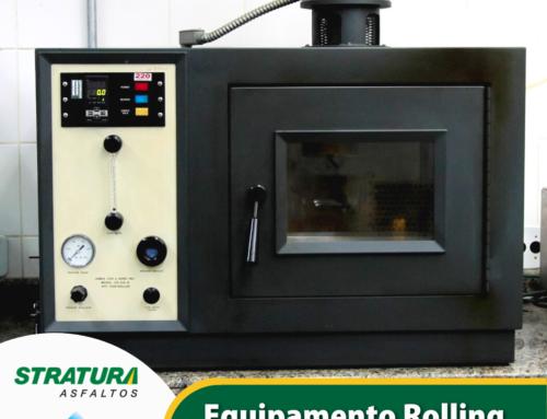 Equipamento Rolling Thin Film Oven – RTFO